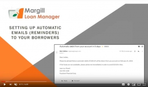 Setting up automatic emails (Reminders) to your borrowers