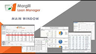 Margill Loan Manager - Main Window
