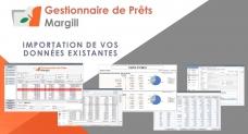 Gestionnaire de Prêts Margill - Import de données